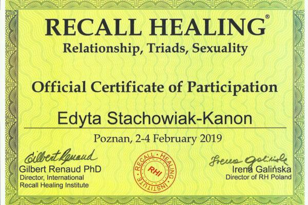 Reacall healing